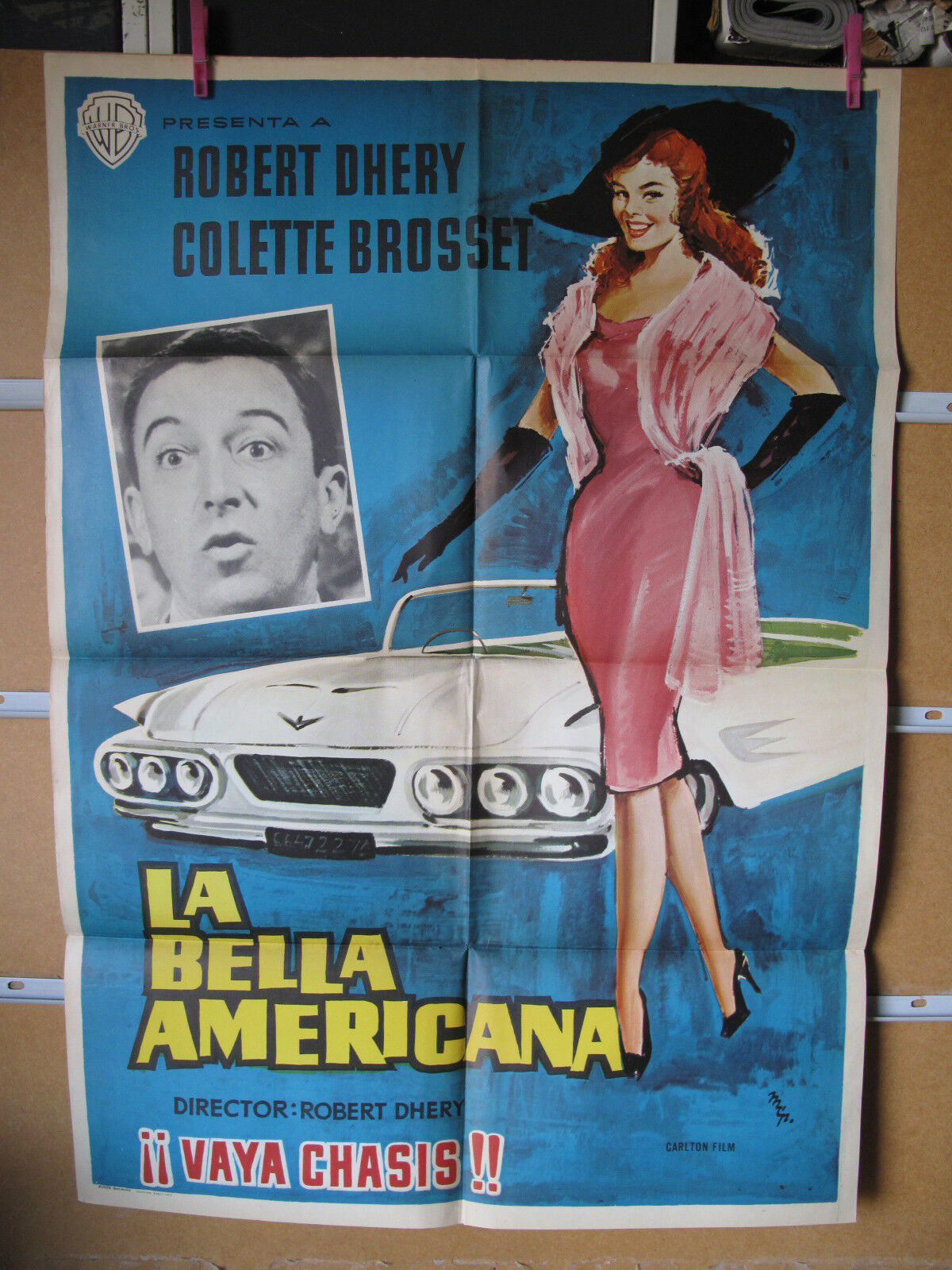 la bella americana Spanish 1 sheet