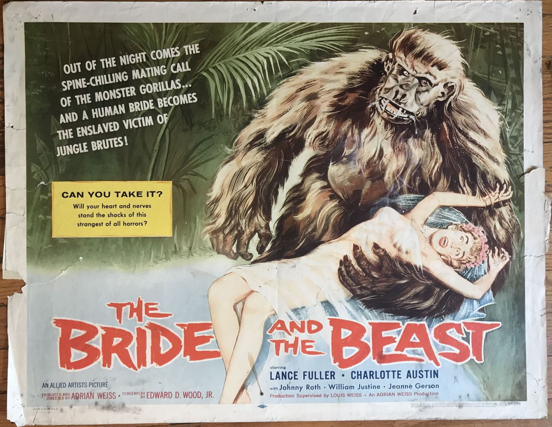 bride and the beast half sheet