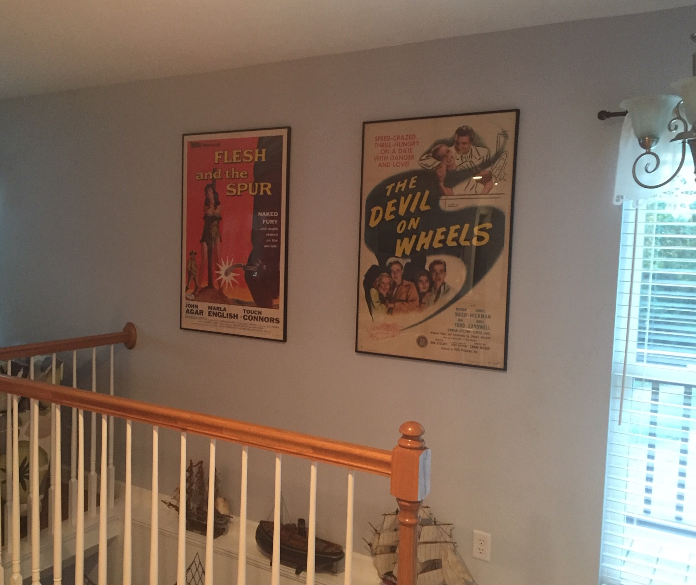 living room over stairs august 2019