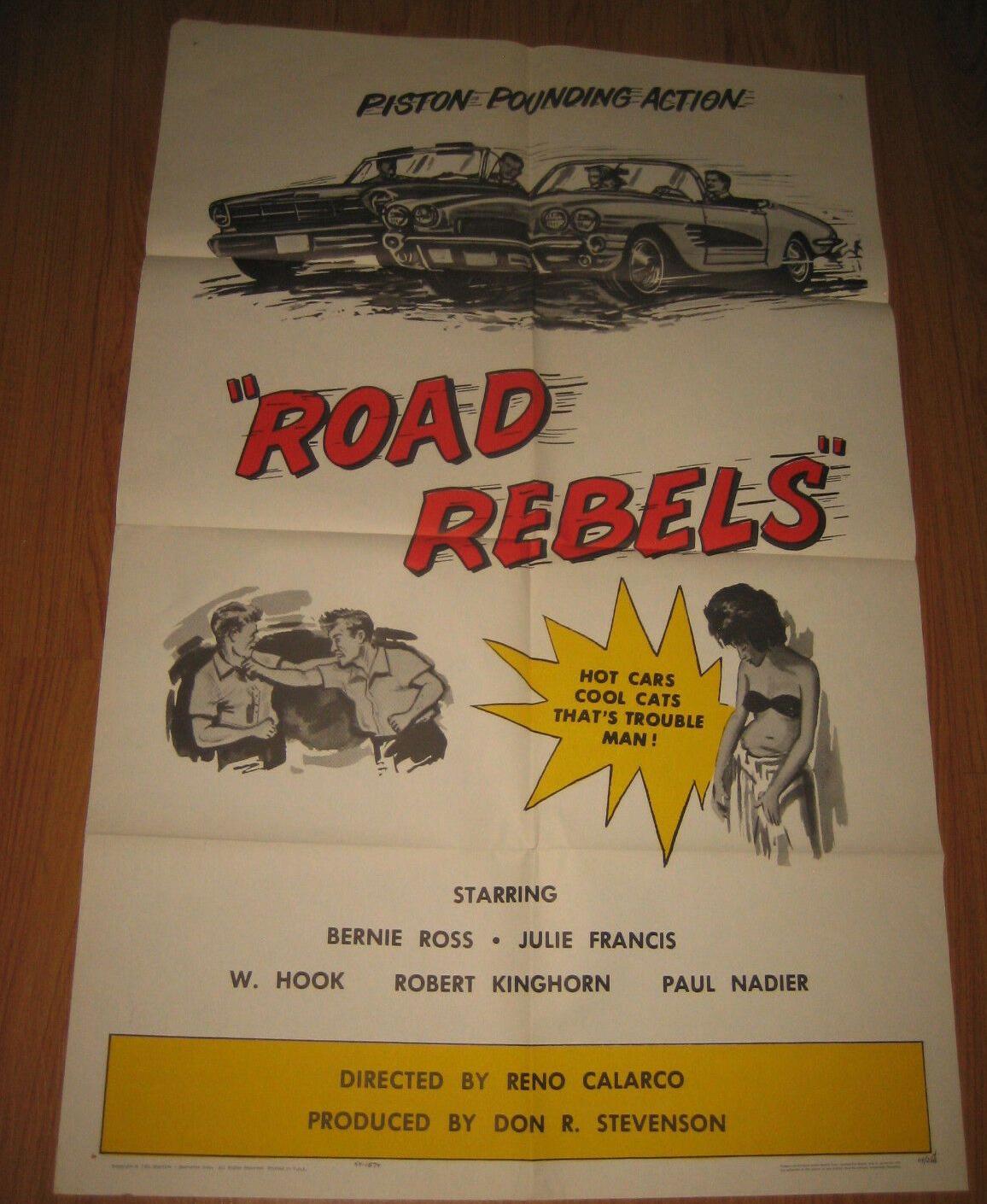 road rebels 1 sheet