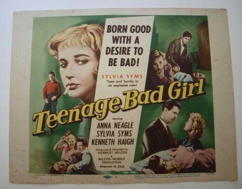 teenage bad girl title card