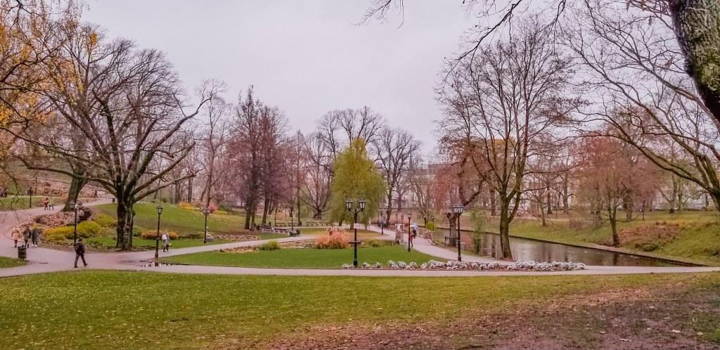 Riga city park