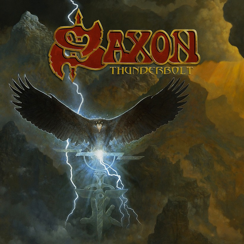 SAXON isn't wasting any time in 2018! New Album Thunderbolt on 2/2/18 then tour with Judas Priest