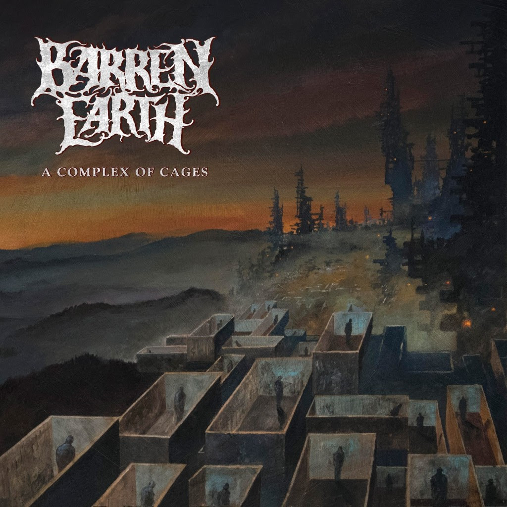 "Album Review of Barren Earth's upcoming release - ""A Complex of Cages"" - Release date 3/30/18"