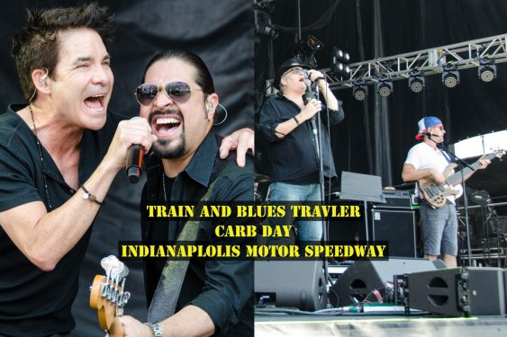 Train and Blues Traveler made for an amazing Carb Day 2018 at the Indianapolis Motor Speedway