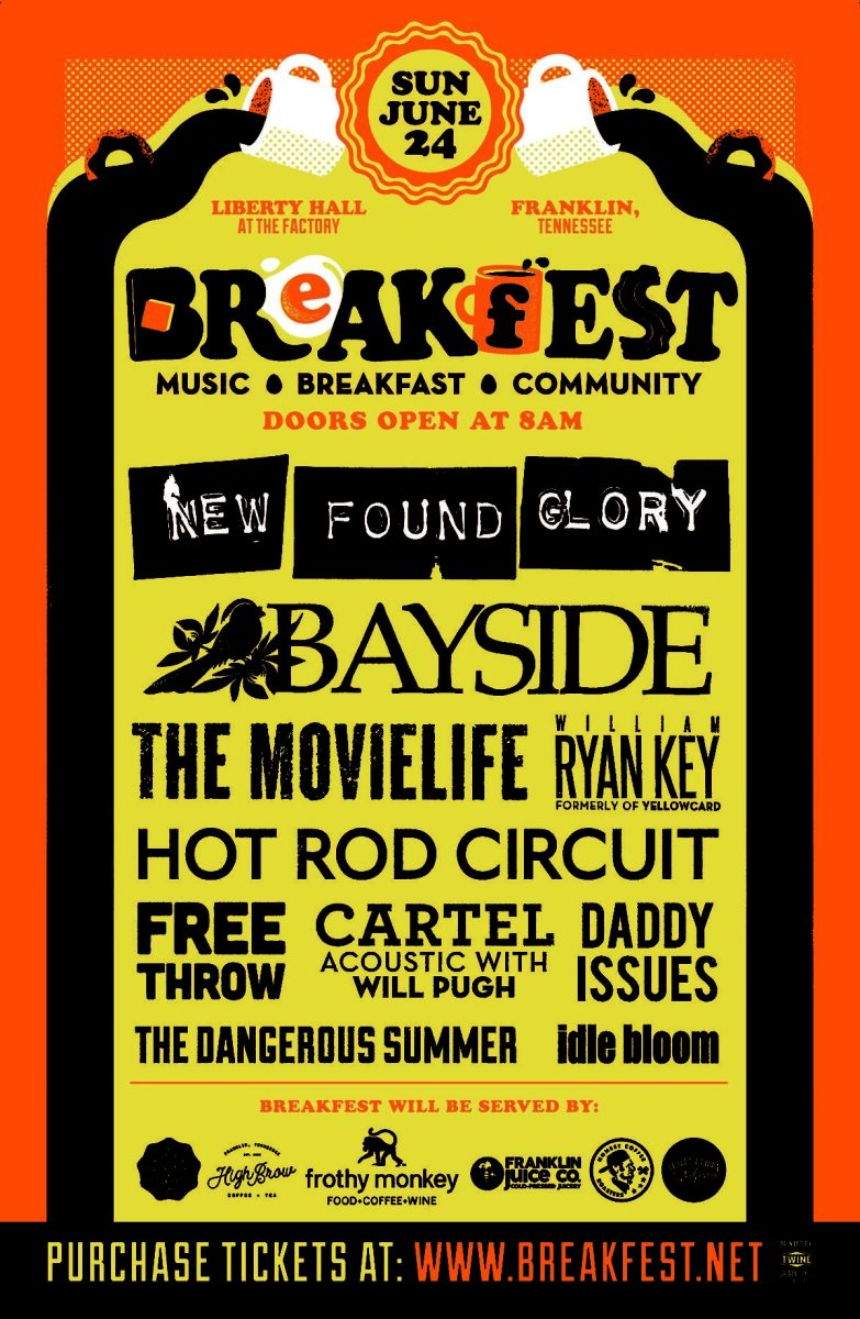 NEW FOUND GLORY  Announces BreakFEST Music, Breakfast and Community Festival