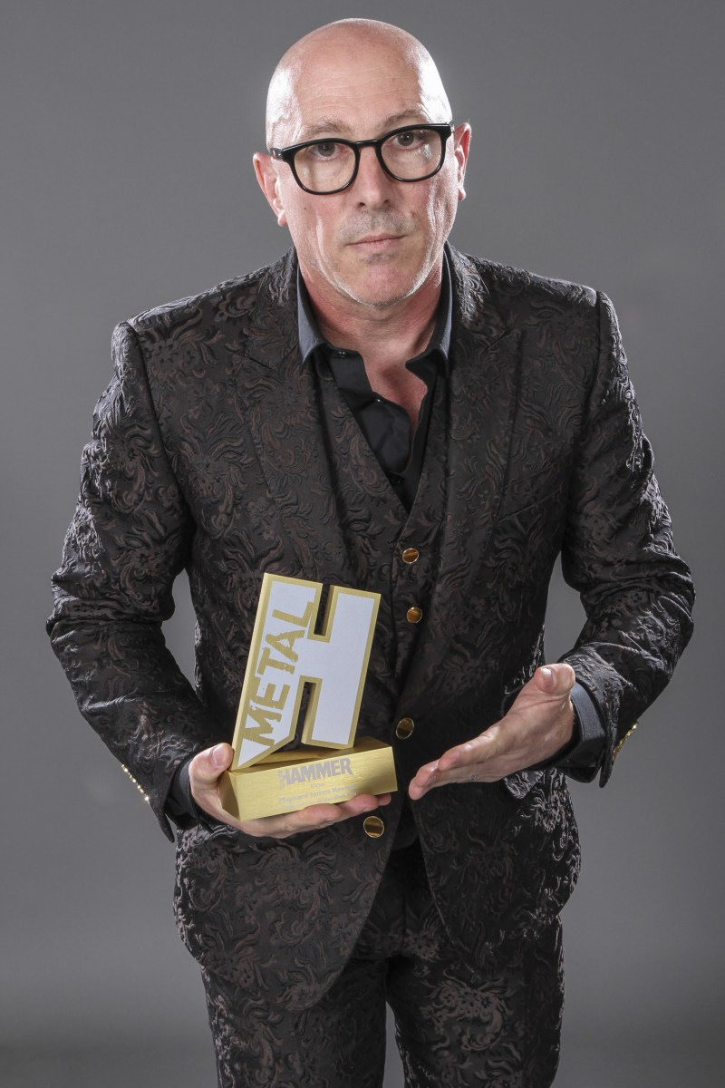 Maynard James Keenan Awarded Metal Hammer Golden Gods' Icon Award