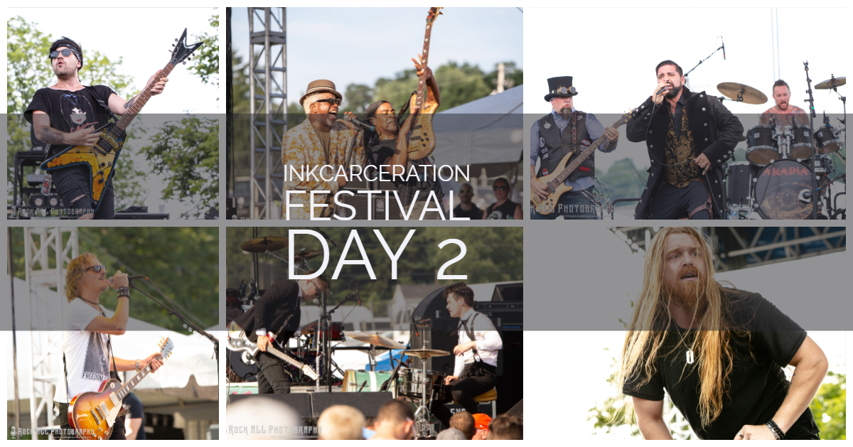 Day 2 in pictures of Inkcarceration Festival! Another killer day with an amazing lineup featuring Bush, Fuel, Alien Ant Farm, Living Colour, Akadia, Through Fire, and more!