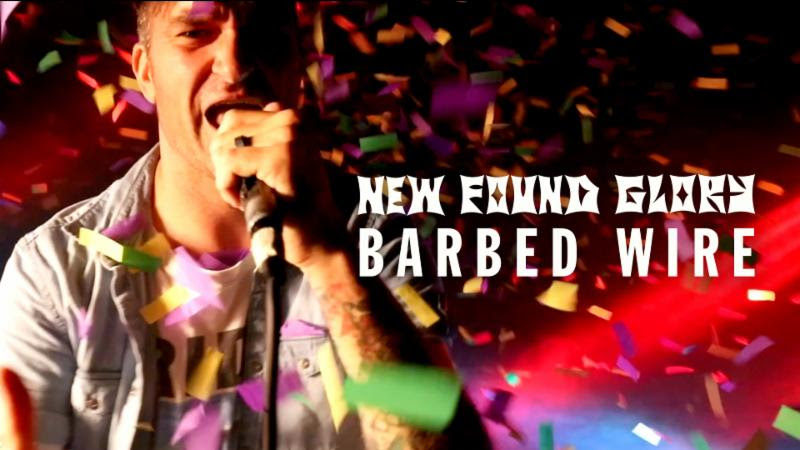 "New Found Glory Releases Music Video for ""Barbed Wire"""