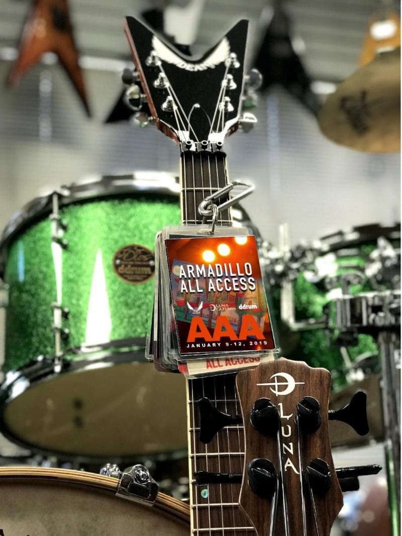 "Armadillo Enterprises (Dean Guitars, Luna Guitars, ddrum) Announces Exclusive ""Armadillo All Access"" Event"