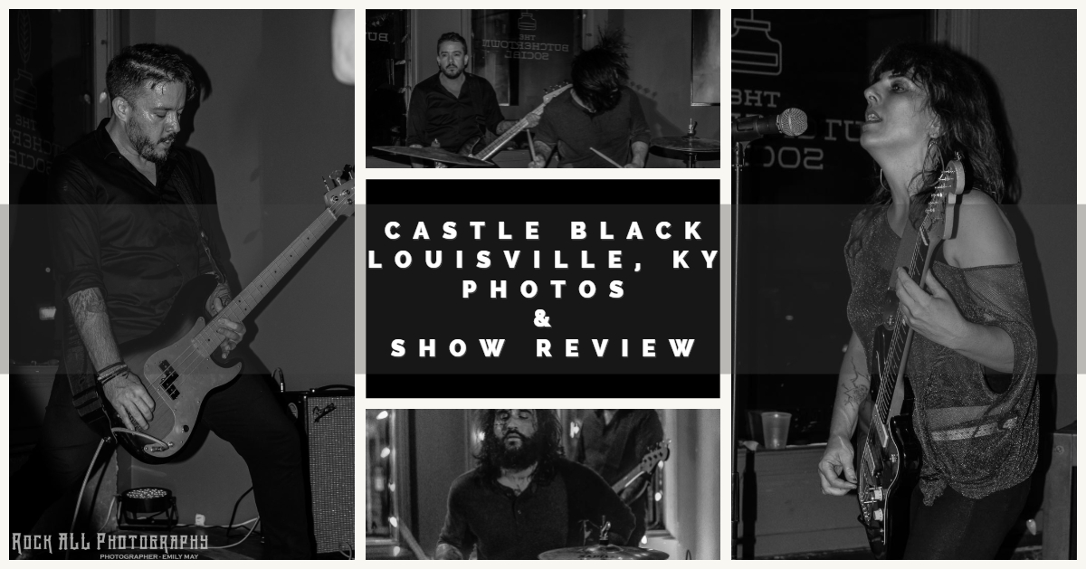 SHOW COVERAGE - Castle Black with The Kids Born Wrong, Bear Bones, and Bad Wires