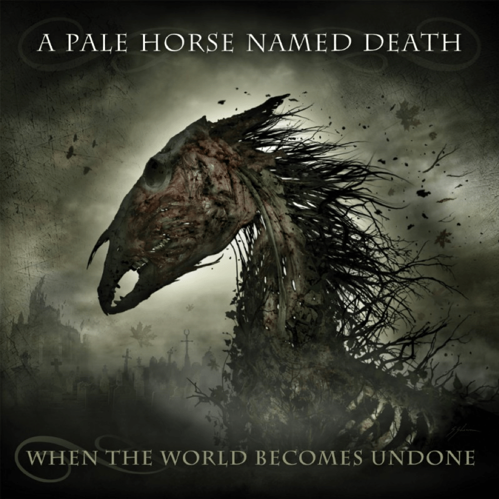 "New A Pale Horse Named Death Album  ""When The World Becomes Undone"" Coming January 18th, 2019"