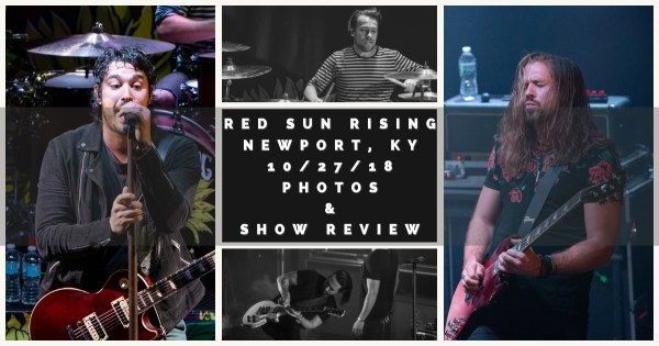 RED SUN RISING rises to the call for WEBN's 10/27 day – Photos and show review!