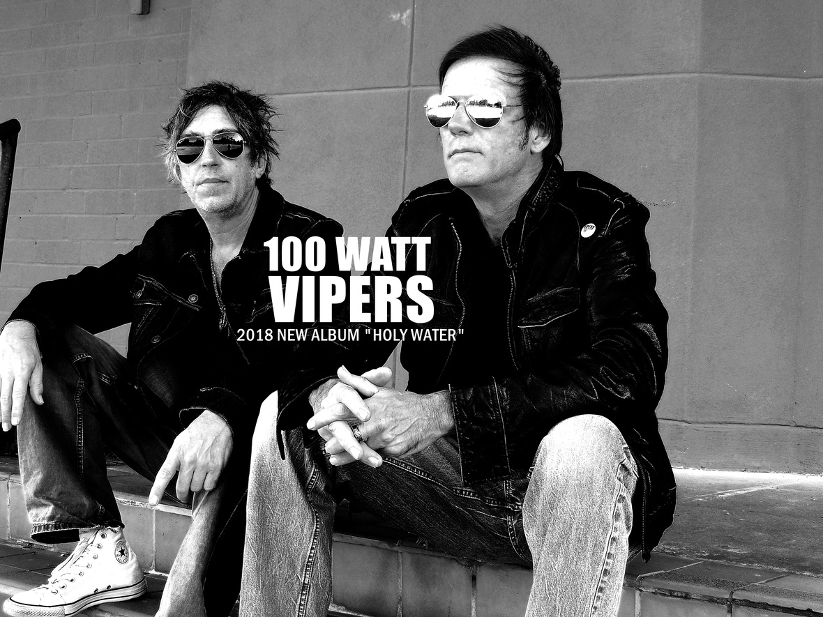 Blues Rock band 100 Watt Vipers discuss their latest album, their DIY approach to making music and what's next for them