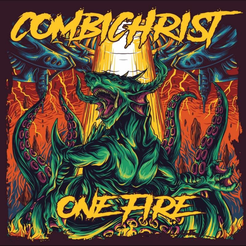 "COMBICHRIST Drops Futuristic Anthem ""Hate Like Me"" + Launches ""One Fire"" Album Pre-Orders"