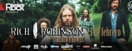 Rich Robinson, el guitarrista fundador de The Black Crowes, llega a la Argentina para presentar su último trabajo como solista.