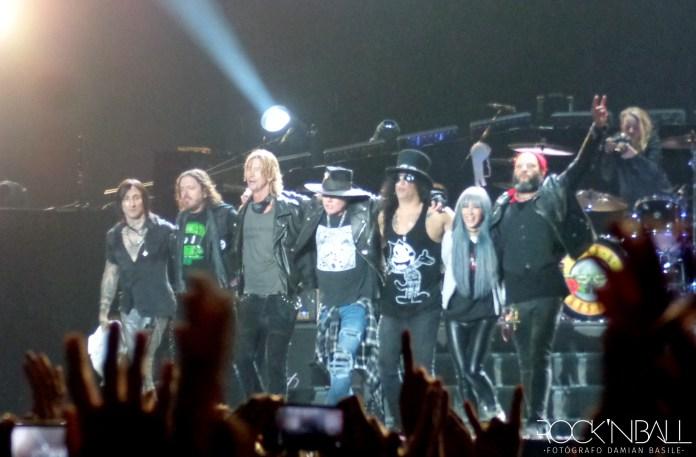 Guns N' Roses en La Plata (Damian Basile)