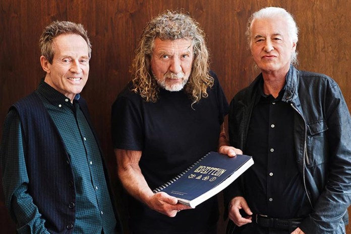Led Zeppelin 2018 (Photo by Dave Brolan/Reel Art Press).