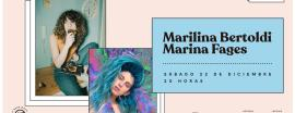 Marilina Bertoldi y Marina Fages