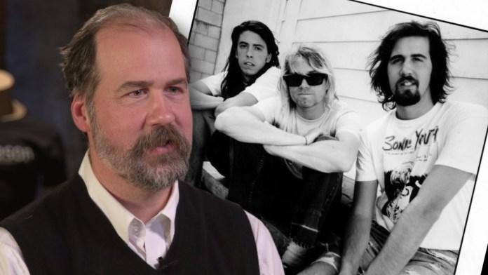 Krist Novoselic, bajista de Nirvana.
