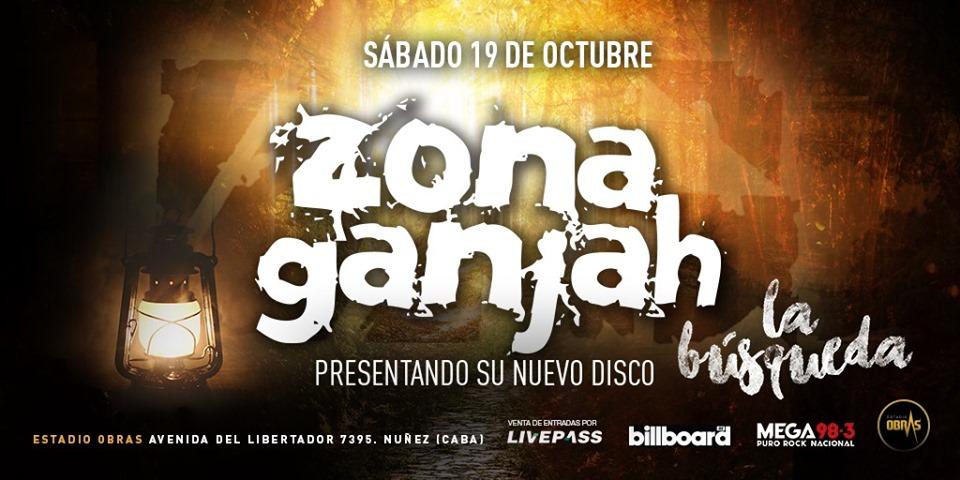 Zona Ganjah presenta su nuevo disco en Obras