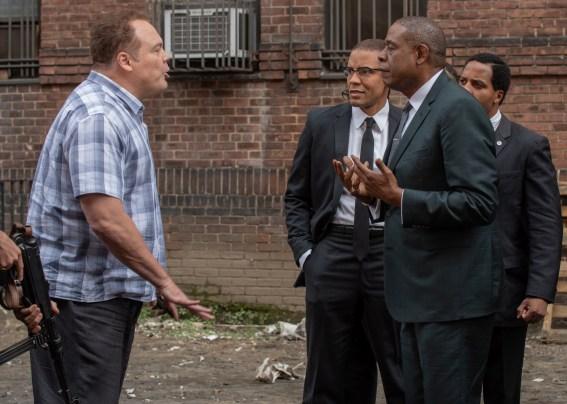 Vincent Donofrio en el Padrino de Harlem