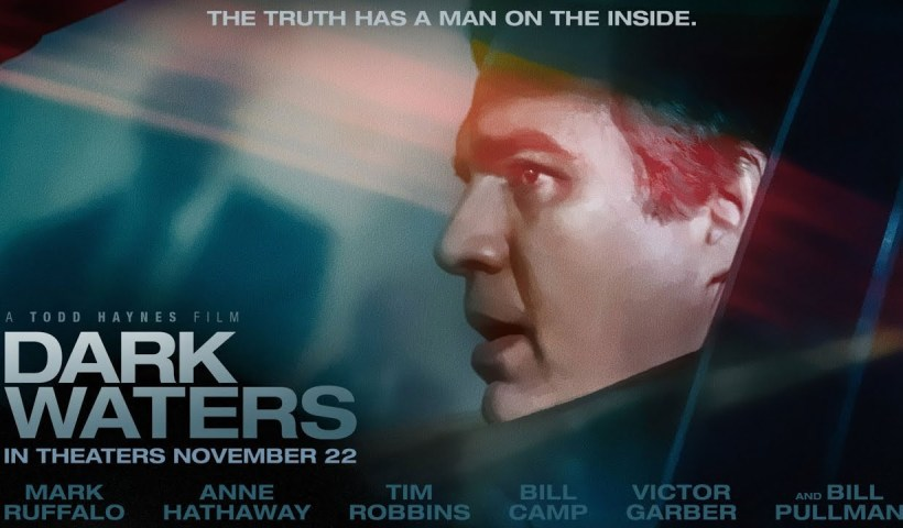 Poster dark waters o aguas oscuras
