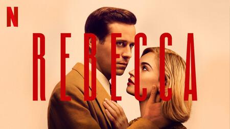 Poster de Rebeca 2020 Netflix