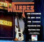 Whisper tocará este viernes en streaming