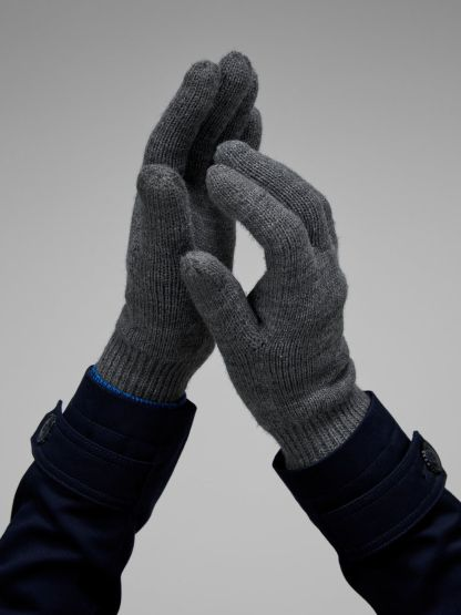 guantes de lana