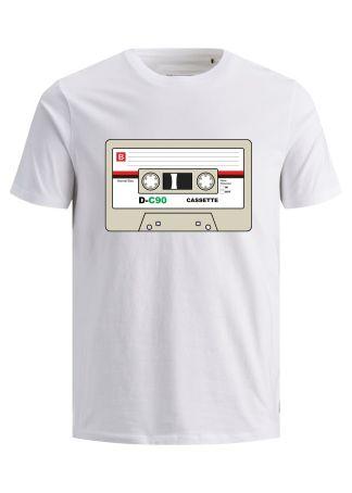 camiseta cassette