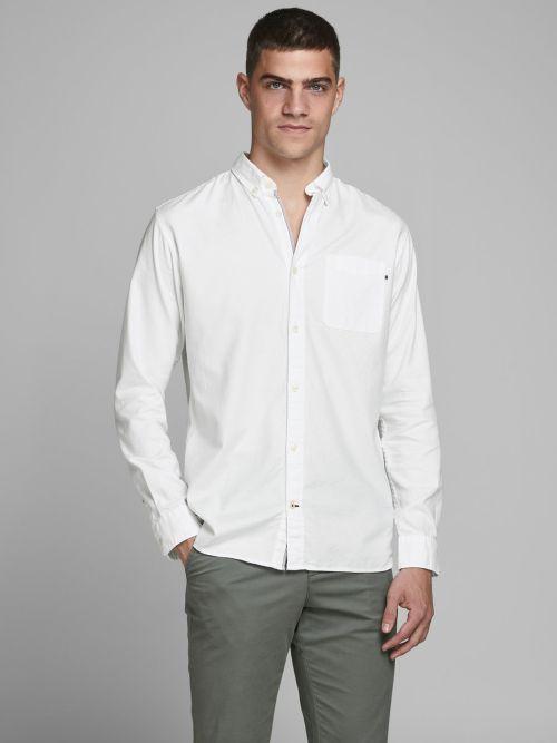 camisa clasica oxford