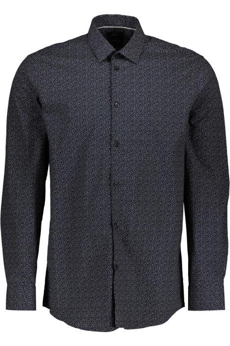 camisa con microestampado