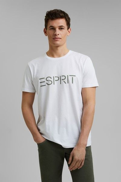 camiseta con logo esprit
