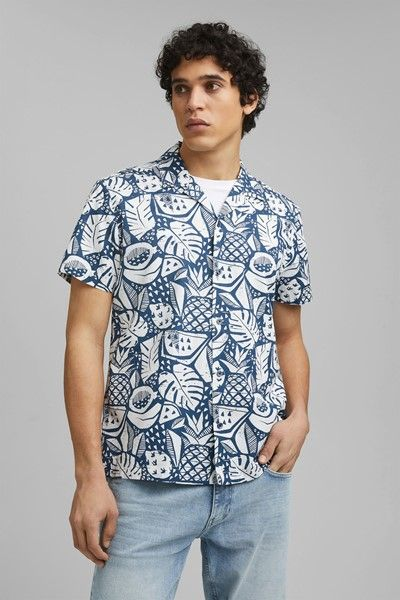 camisa geo fruits