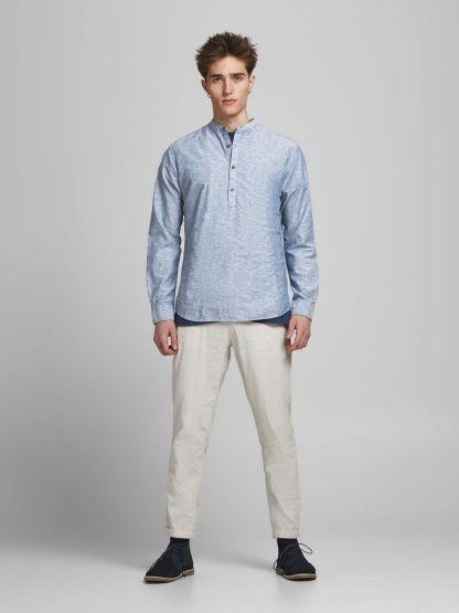 camisa tunica bla summer mao