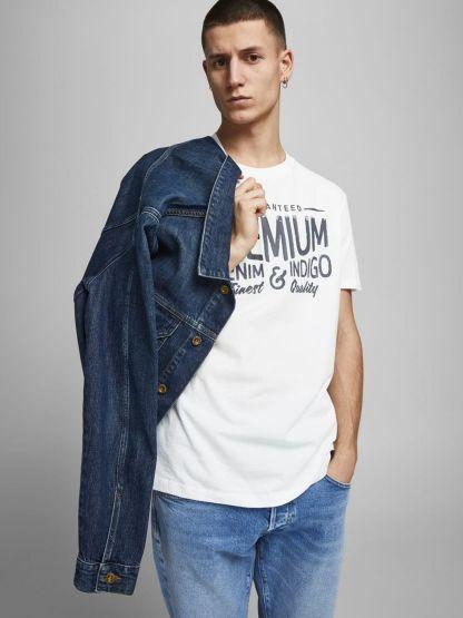 camiseta blu jones
