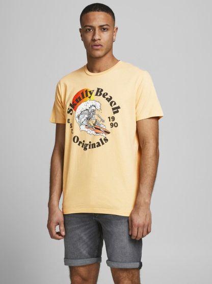 camiseta summer skull