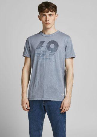 camiseta blu brown
