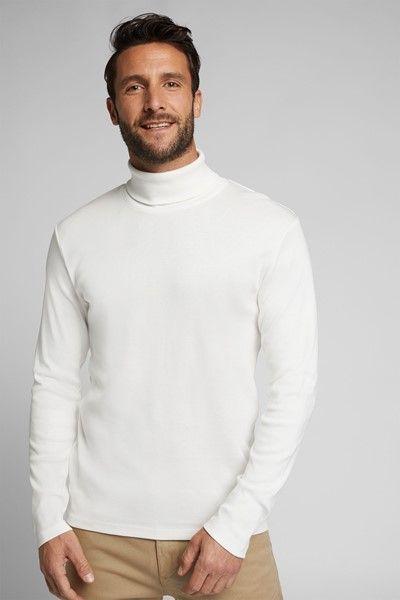 jersey basico de cuello alto