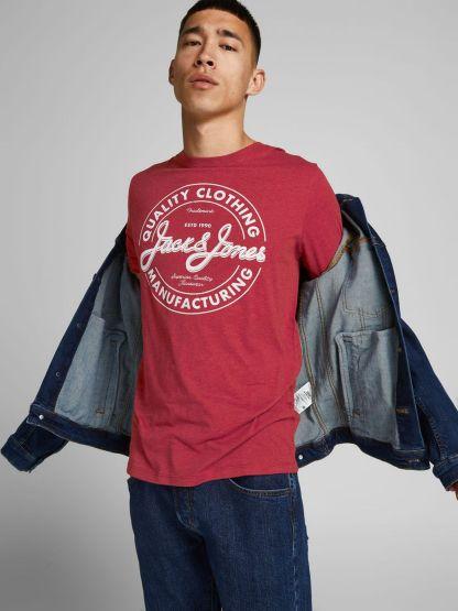 camiseta jeans aw21 con logo