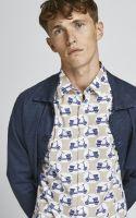 camisa estampada mix
