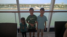 After boarding at the Port of Miami