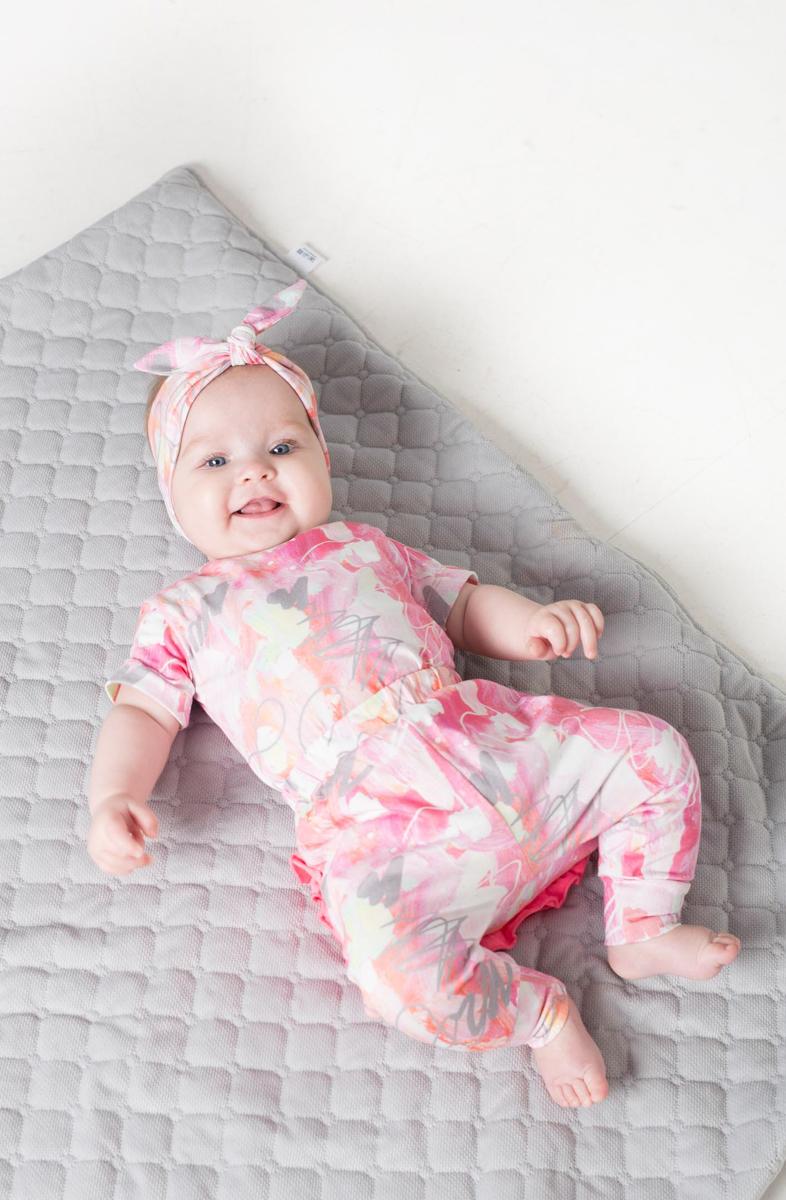 Pink baby kids and toddler bodysuit