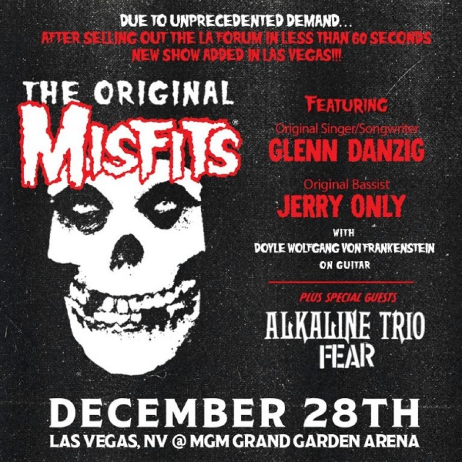 Buy tickets to the original misfits