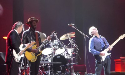 Watch Eric Clapton, Jimmie Vaughan & Gary Clark Jr playing together