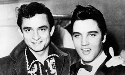 Back In Time: Johnny Cash does Elvis impression