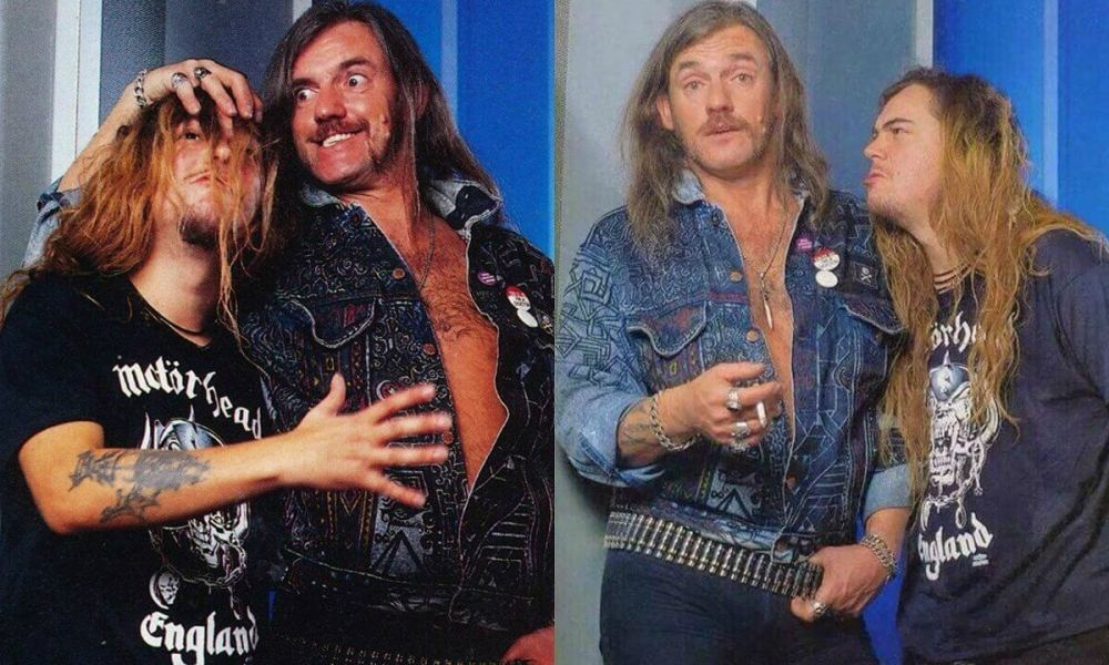 Max Cavalera and Lemmy Kilmister