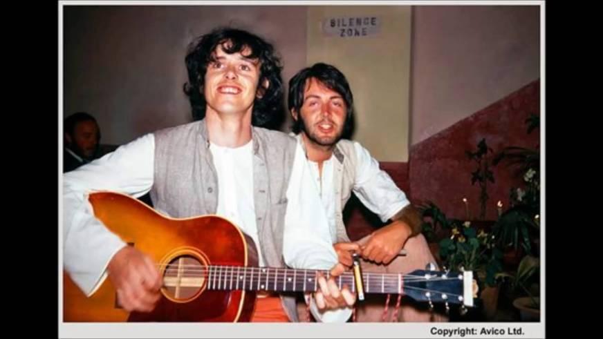 Donovan and Paul McCartney