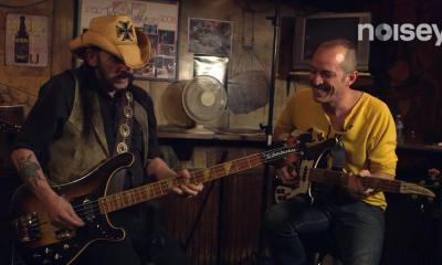 Lemmy Kilmister on guitar moves